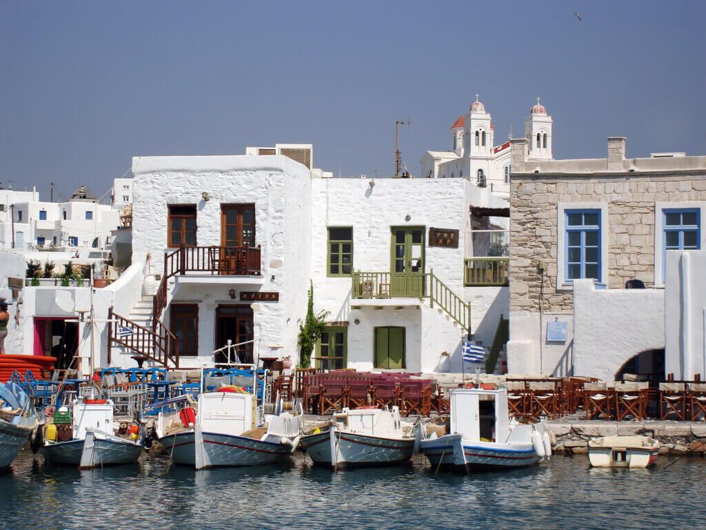 Paros Hafen