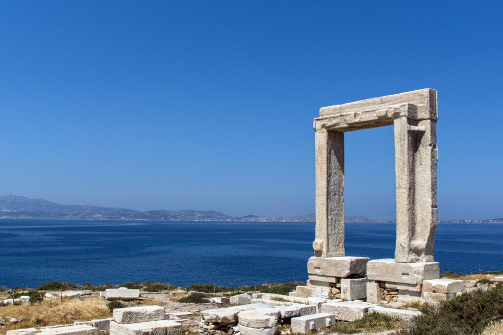 Naxos Apollon Tempel