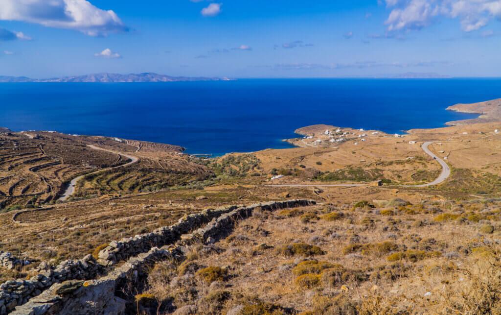 Tinos Blick über Insel