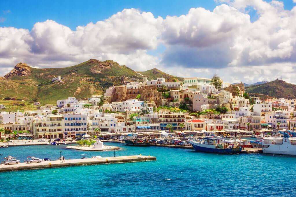 Naxos Hafen
