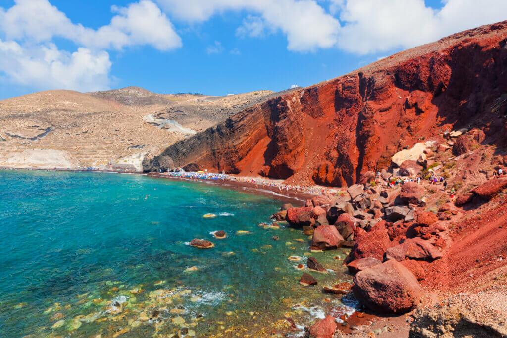 Roter Strand Santorini